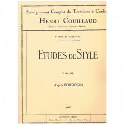 Couillaud, H Estudios de...
