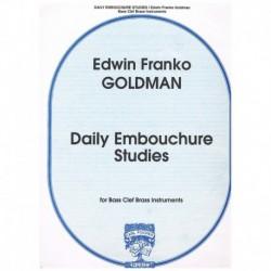 Goldman. Estudios Diarios de Embocadura (Trombon)