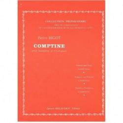 Bigot, Pierr Comptine (Trompeta y Piano)