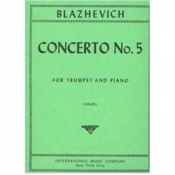 Blazhevich. Concierto Nº5 (Trompeta y Piano)