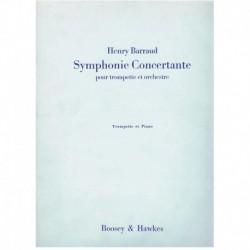 Barraud. Sinfonia Concertante (Trompeta y Piano)