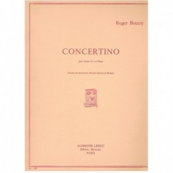Boutry. Concertino (Trompeta y Piano)