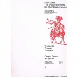 Dubuis. 6 Piezas Vol.1 (Trompeta y Piano)