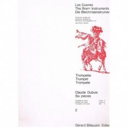 Dubuis. 6 Piezas Vol.2 (Trompeta y Piano)