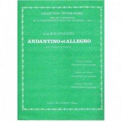 Kauffmann. Andantino et...