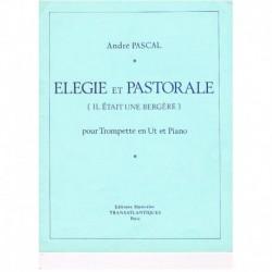 Pascal, Andr Elegie et Pastorale (Trompeta y Piano)