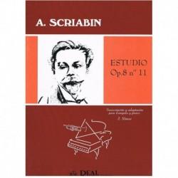 Scriabin. Estudio Op.8 Nº11 (Trompeta y Piano)