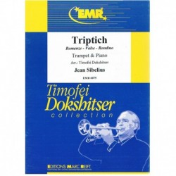 Sibelius.Triptico (Romanze, Valse, Rondino) (Trompeta y Piano)