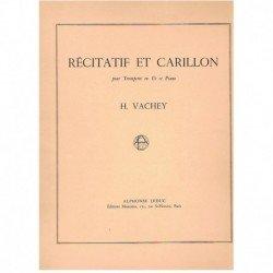 Vachey, H. Recitatif et Carillon (Trompeta y Piano)