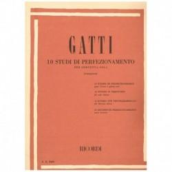 Gatti. 10 Estudios de Perfeccionamiento (Trompeta)