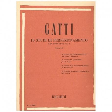 Gatti, Domen 10 Estudios de Perfeccionamiento (Trompeta)