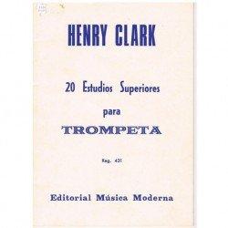 Clark, Henry 20 Estudios Superiores para Trompeta