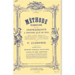 Clodomir, P. Metodo Elemental para Trompeta. Manual del Profesor