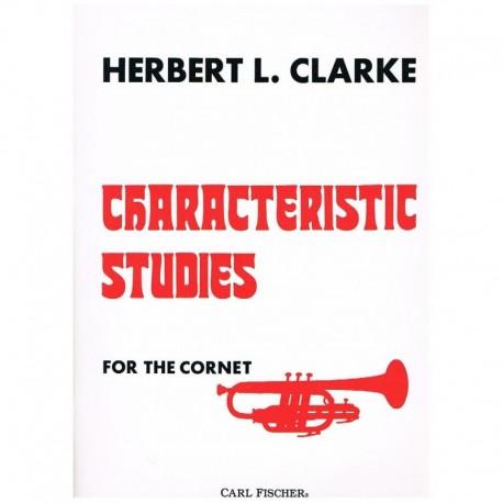 Clarke, Herb Estudios Caracteristicos (Trompeta)