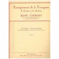 Laurent. Estudios Practicos Vol.1 (Trompeta)