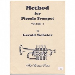 Webster. Metodo para Trompeta Piccolo Vol.2
