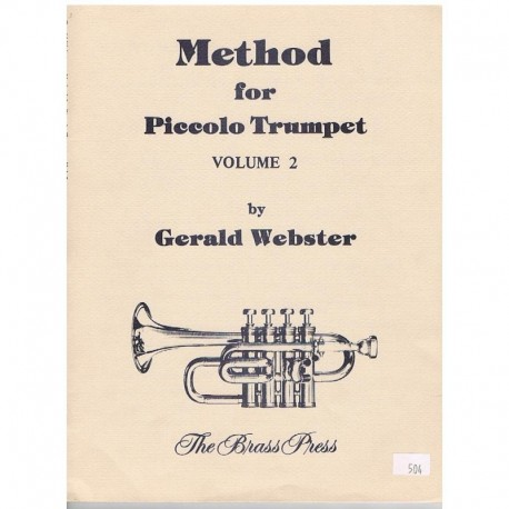 Webster, Ger Metodo para Trompeta Piccolo Vol.2