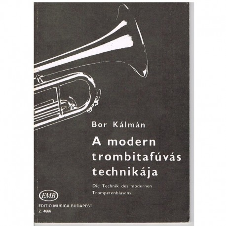 Kalman, Bor Tecnica Moderna de la Trompeta