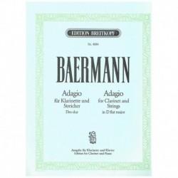 Baermann. Adagio en Reb Mayor (Clarinete y Piano)