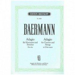 Baermann. Adagio en Reb...