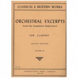 Varios. Orchestral Excerpts Vol.7 (Clarinete)