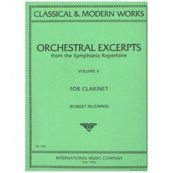 Varios. Orchestral Excerpts Vol.2 (Clarinete)