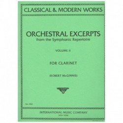 Orchestral Excerpts Vol.2 (Clarinete)