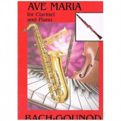 Bach/Gounod Ave Maria (Clarinete y Piano)