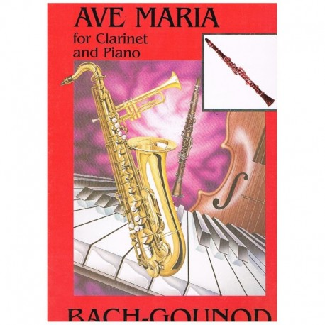 Bach/Gounod Ave Maria (Clarinete y Piano)