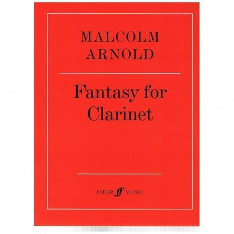 Arnold. Fantasia para Clarinete Op.87