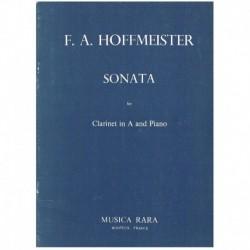 Hoffmeister, Sonata para Clarinete en La y Piano