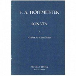 Hoffmeister. Sonata para Clarinete en La y Piano