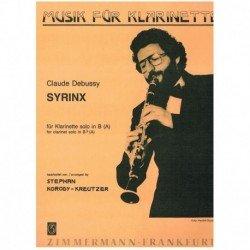 Debussy, Cla Syrinx...