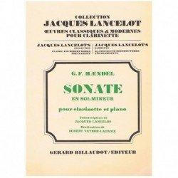 Haendel. Sonata en Sol menor (Clarinete y Piano)