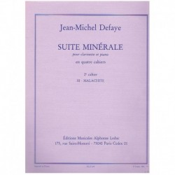 Defaye. Suite Minerale Nº2....