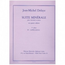 Defaye. Suite Minerale Nº4....