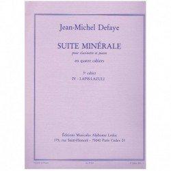 Defaye, Jean Suite Minerale...