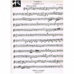 "Mozart. Sinfonia Nº35 Haffner"" (Clarinete en La)"""
