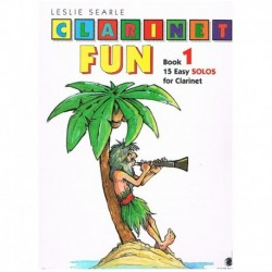 Searle. Clarinet Fun Vol.1. 15 Easy Solos for Clarinet