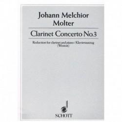 Molter, Joha Concierto Nº3 (Clarinete y Piano)