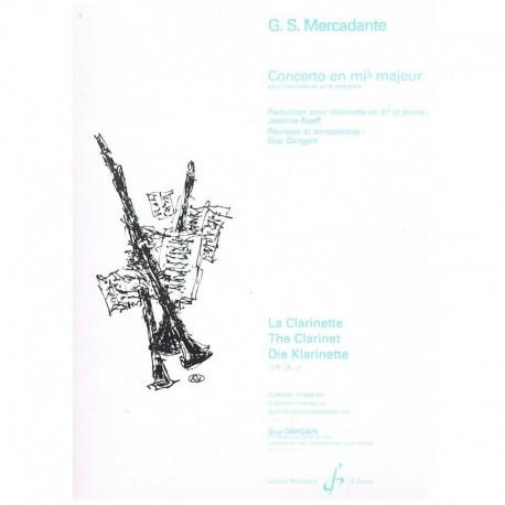 Mercadante. Concierto en Mib Mayor (Clarinete y Piano)