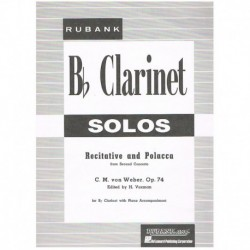 Weber, Carl Recitative and...