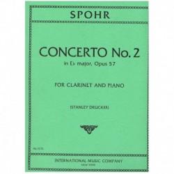 Spohr. Concierto Nº2 Op.57...