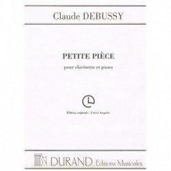 Debussy. Petite Piece. 1ª...