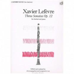Lefevre. 3 Sonatas Op.12 (Clarinete y Piano)