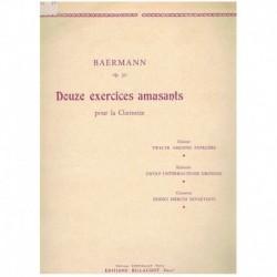 Baermann, H. 12 Ejercicios Divertidos Op.30 (Clarinete)