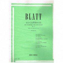 Blatt. 12 Caprichos en...