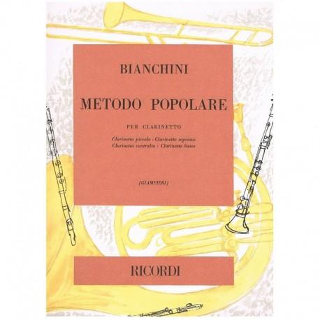 Bianchini. Metodo Popular para Clarinete