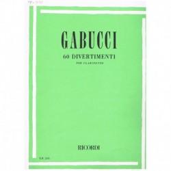 Gabucci. 60 Divertimentos...
