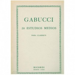 Gabucci. 20 Estudios Medios...